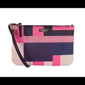 Kate Spade Grant Street Lolly Wristlet, Colorblock